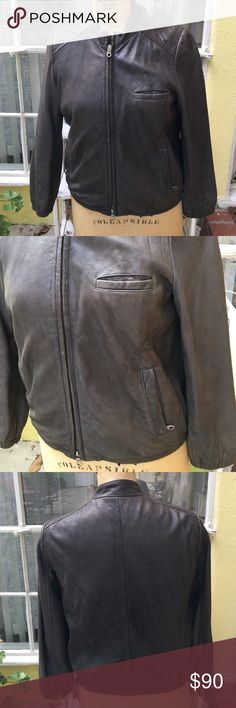 Awesome Gray Bomber Jacket Awesome bomber jacket. Had little water stain on sleeve. Hardly noticeable. Wearmaster Outerwear Jackets & Coats Utility Jackets