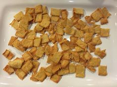 Ever plow through a whole box of Cheez-Its? This crunchy, crave-able snack food has a tremendous cult following—and it's not exclusive to kids. My three-ingredient homemade crackers are just as tasty as the store-bought version, and they're better for your family. My kids (and their friends) rate it a two-thumbs-up!