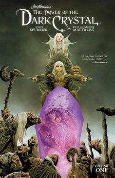 """Read """"Jim Henson's The Power of the Dark Crystal Vol. by Simon Spurrier available from Rakuten Kobo. In celebration of the anniversary of Jim Henson's The Dark Crystal, return to the world of Thra in an official sequ. Crystal Web, The Dark Crystal, Jim Henson Labyrinth, Fantasy Films, Electronic Gifts, Manga, The Conjuring, Fantasy Creatures, The Darkest"""