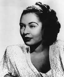 Look at all that beautiful hair. Billie Holiday, Lady Sings the Blues, Jazz Singing Legend