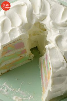 Summer Cakes, Summer Desserts, Just Desserts, Delicious Desserts, Dessert Recipes, Yummy Treats, Sweet Treats, Cola Cake, Rhubarb Cake