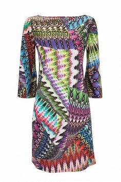60s Hippie Style Shift Dress
