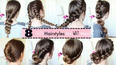 8 Hairstyles for Wet