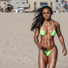 A picture of Jenna De Leon. This site is a community effort to recognize the hard work of female athletes, fitness models, and bodybuilders. Fitness Gurls, Fitness Models, Female Fitness, Female Muscle, Black Fitness, Women's Fitness, Toned Women, Fit Women, Strong Women