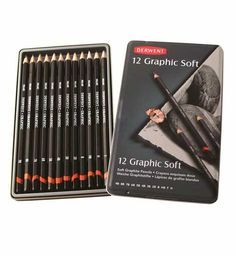 Derwent 12 Graphic soft