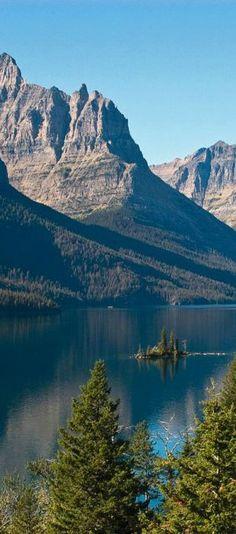 St. Mary's Lake at Glacier National Park | visitglacierpark.com