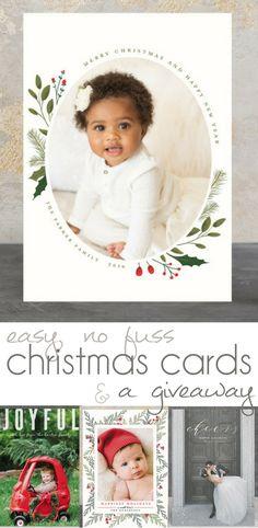 Beautiful Holiday Cards, Beautiful Christmas Cards, Beautiful Holiday Photo Cards - Pocketful of Posies
