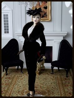 """JAMIEshow Marlene ~ in AD """"So Evil My Love"""" ~ Image and styling by Benj ~ The Studio Commissary/kw"""