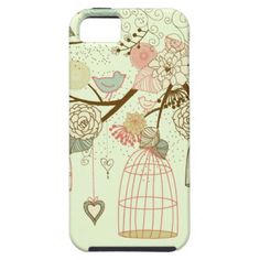cute birds iPhone 5 cases