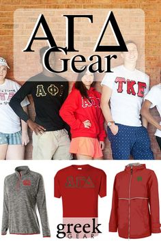 Greek Gear is the place to shop for Alpha Gamma Delta gear and gifts. Check out our t-shirts, long sleeve tees, hats, jackets, sweatshirts, accessories and more!
