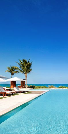 Jetsetter Daily Moment of Zen: Grace Bay Club in Providenciales Island, Turks and Caicos Vacation Destinations, Vacation Trips, Dream Vacations, Vacation Spots, Summer Vacations, Barbados, Jamaica, Oh The Places You'll Go, Places To Travel