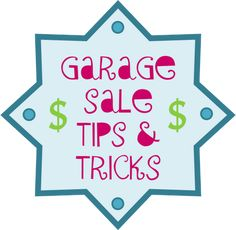 Inspired Whims: Garage Sale Tips & Tricks. Would never have thought of the bag idea. Like it!