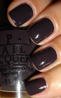 "OPI - ""I Brake For Manicures"" love this color"
