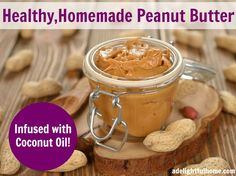 homemade peanut butter - with coconut oil 2 cups peanuts ( I like mine ...