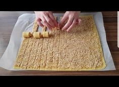 You may have never seen this amazing dessert before. Lİ You may have never seen this amazing dessert before. Fun Desserts, Dessert Recipes, Walnut Recipes, Comfort Food, Turkish Recipes, Sweet Recipes, Good Food, Food And Drink, Cooking Recipes