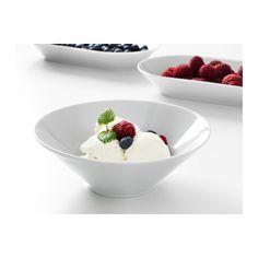 IKEA 365+ Deep plate/bowl, angled sides white angled sides white 7