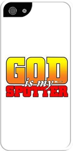 Tony Karen Hill - God is my spotter- Kendin Tasarla - İphone 55S Kılıfları