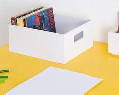 Caixa Organizadora Chilon Branca 12x21x27 - 95,00