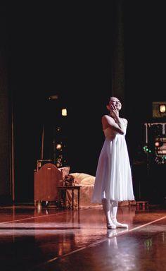 Tatiana's Dream, Aki Saito From the Wings - Onegin, Ballet Vlaanderen #stage #ballet #balletvlaanderen #royalballetofflanders #onegin #bts