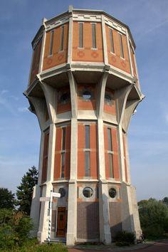 Watertoren Leiden.