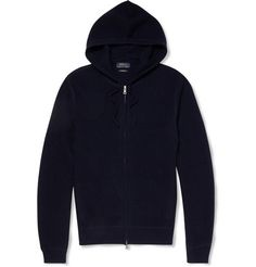 Polo Ralph Lauren Waffle-Knit Cashmere Hooded Sweater | MR PORTER