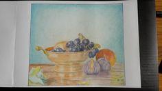 Caro en couleurs: Coupe de fruits