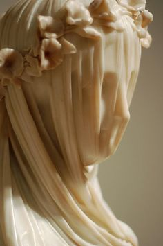 caughtunawares: Veiled Vestal Virgin This is a divine sculpture.