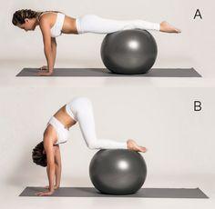 Abdômen firme e definido com a aula de meia hora de pilates