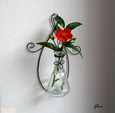 … Gaia, Wire Crafts, Glass Vase, Wreaths, Home Decor, Homemade Home Decor, Door Wreaths, Deco Mesh Wreaths, Garlands