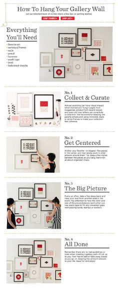 gallery wall how-to with Randi Brookman Harris and Katie Evans for West Elm