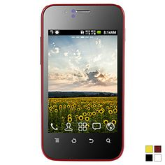 "CUBOT Mini Android 2.3 1G CPU with 3.5"" Capacitive Touchscreen Smartphone (Dual SIM, Wi-Fi) – EUR € 57.74"