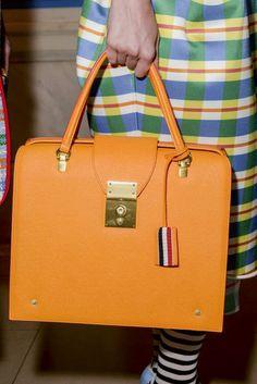 Thom Browne Spring 2016, handbags