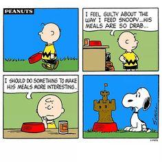 Snoopys meals strip