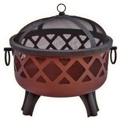 Kay Home Products 30072 Iron Hearth With Lid By Kay Home Products