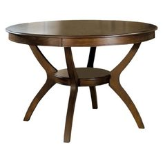 Monarch Specialties Ash Veneer Dining Table - Dark Walnut  |  Target  |  $359