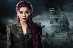 X men Day of future past, Bio, Blink