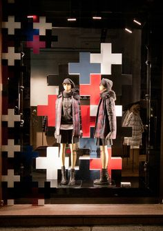 Peuterey Fashion Week windows 2014, Milan   Italy