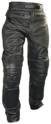 Amazon.com: Xelement B7466 Mens Black Armored Cowhide Leather Racing Pants - 36: Automotive