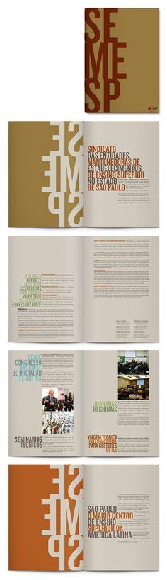 Visual identity for Institutional folder, Semesp: Casa Rex