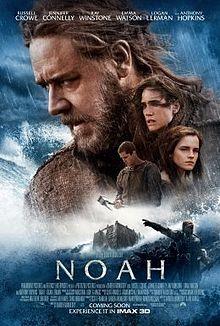 Noah (2014) film, ulasan film, movies, movie review, movie poster, russell crowe, jennifer connelly, emma watson, fiction, drama.