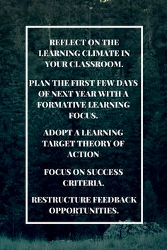 5 Formative Assessment Tips for the New School Year - ASCD Inservice The New School, New School Year, Learning Targets, Success Criteria, Formative Assessment, Professional Development, Classroom Ideas, Teacher, Student