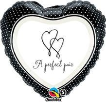 I do wedding shower Foil Balloon (18in, heart) - A Perfect Pair by Qualatex. $2.39. 18 Inch A Perfect Pair Balloons