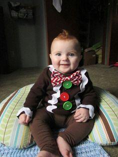 Gingerbread man, homemade costume,  Halloween
