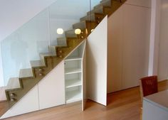 Latest Work By Creativ Kitchen under stairs wardrobe Kitchen Under Stairs, Modern Kitchen Design, Wardrobes, Mid-century Modern, House, Apartment Ideas, Kitchen Ideas, Scale, Home Decor