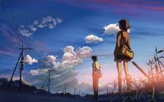 Your Name, Kimi no Na wa en japonais est un film d'animation de Makoto Shinkai et est un véritable succès au box-office depuis sa sortie.