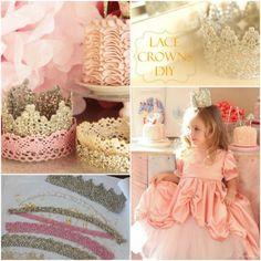 Lace Princess Crown