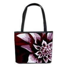 Deep Purple Flower Bucket Bag. Click to see this design on other products.