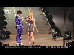 ▶ 蔡依林 出席林俊傑演唱會 兩人深情對唱 - YouTube
