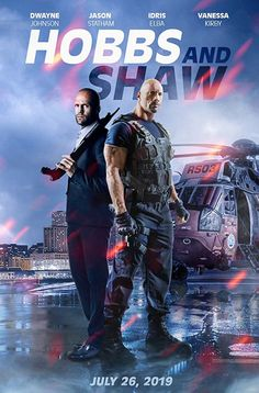 Watch Fast and Furious Hobbs & Shaw Funny Airport Scene. The action movie stars Dwayne Johnson, Jason Statham, and Vanessa Kirby. Hollywood Action Movies, Latest Hollywood Movies, Action Movie Poster, Action Movie Stars, Download Free Movies Online, Free Movie Downloads, Jason Statham, Fast And Furious, Great Movies