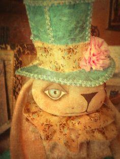 Ooak primitive folk art doll by Sherrie Neilson. Published in Prims magazine winter edition 2015 Primitive Folk Art, Decorative Items, Art Dolls, Magazine, Winter, Winter Time, Country Primitive, Magazines